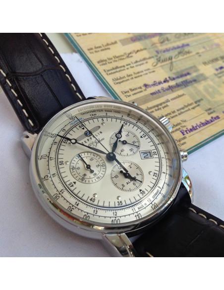 Hodinky Zeppelin 7680-1 100 years Zeppelin chronograph 289.586744 - 4