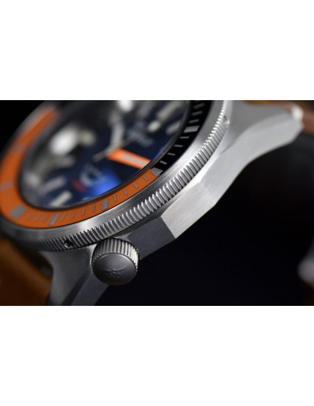 Squale Squalematic 60ATM Black/Orange professional diving watch Squale - 3