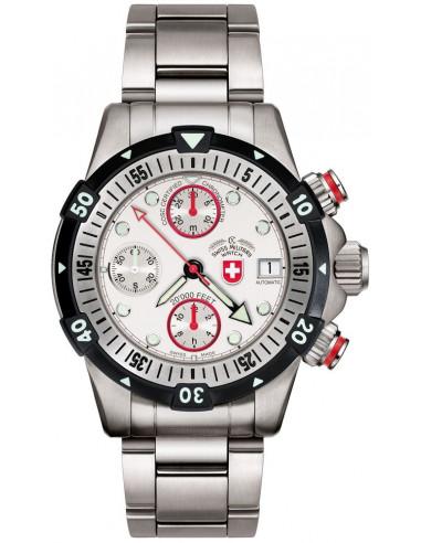 CX Swiss Military 20000 FEET white 1945 watch