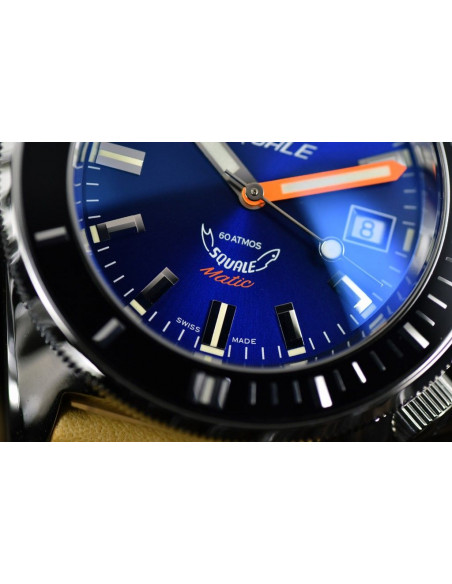 Squale Squalematic 60ATM Dark Blue professional diving watch Squale - 2