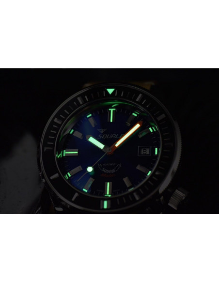 Squale Squalematic 60ATM Dark Blue professional diving watch Squale - 6