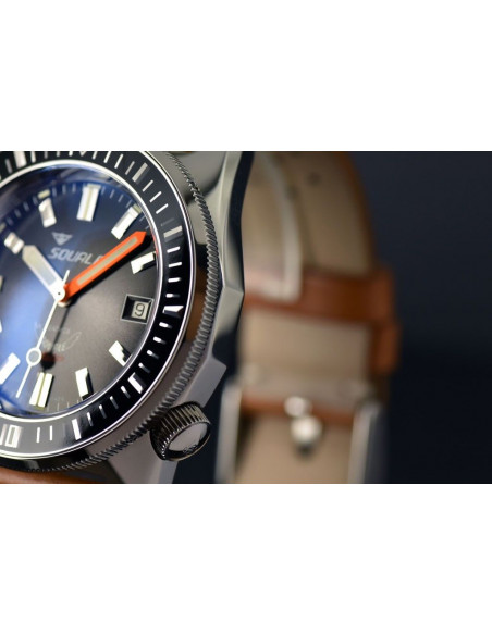 Squale Squalematic 60ATM Grey professional diving watch Squale - 2
