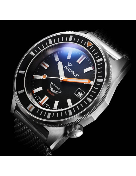 Squale Squalematic 60ATM Black professional diving watch Squale - 2