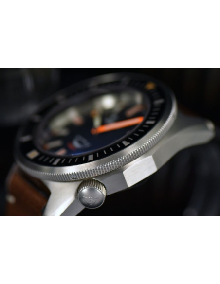 Squale Squalematic 60ATM Black professional diving watch Squale - 5