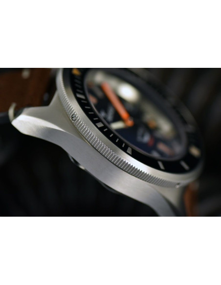 Squale Squalematic 60ATM Black professional diving watch Squale - 6