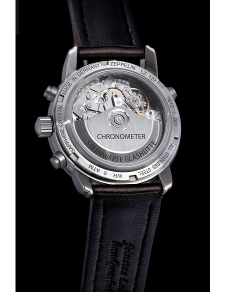 Zeppelin 7612-4 LZ127 Chronometer Glashuette Observatory watch