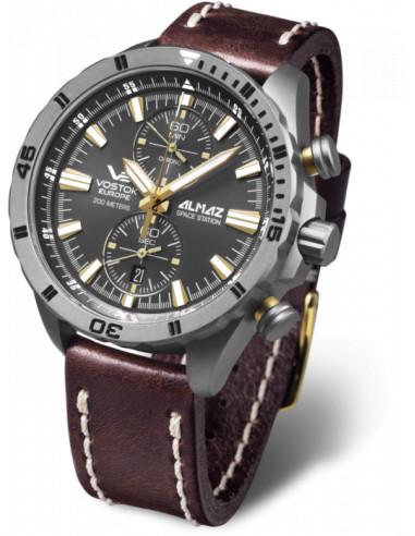 Vostok Europe 6S11-320H521 Almaz Titanium chronograph Uhr 408.369458 - 1