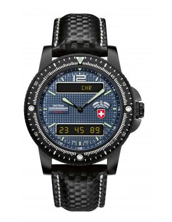 CX Swiss Military Delta EVO 2222 blue watch