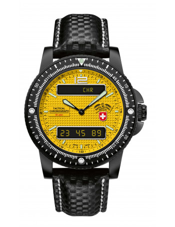 CX Swiss Military Delta EVO 2223 yellow watch