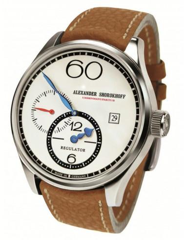 Zegarek mechaniczny z regulatorem Alexander Shorokhoff AS.R01-2 1113.281042 - 1