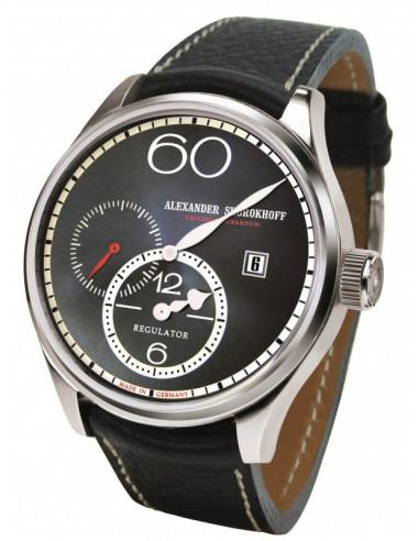 Alexander Shorokhoff AS.R01-3 Zegarek mechaniczny z regulatorem 1113.281042 - 1