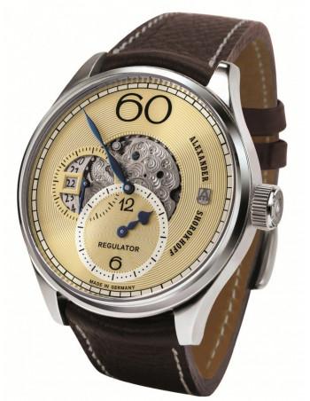 Alexander Shorokhoff AS.R02-2 Regulator mechanical watch Alexander Shorokhoff - 1