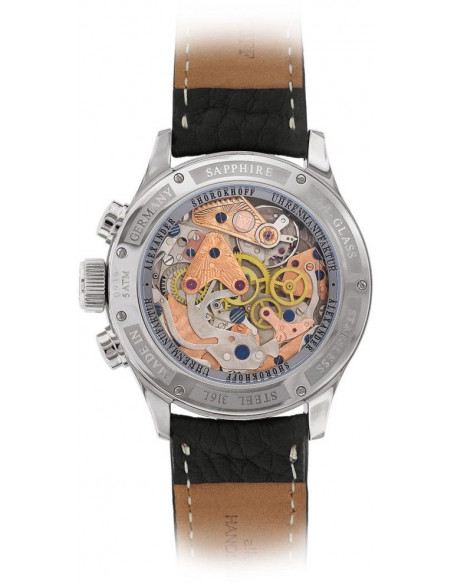 Alexander Shorokhoff AS.CR01-3M Chrono Regulator mechanical watch Alexander Shorokhoff - 2