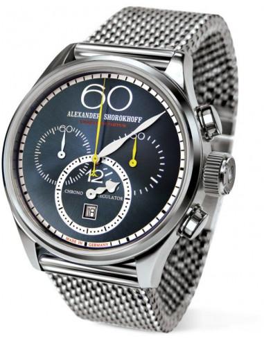 Zegarek mechaniczny Alexander Shorokhoff AS.CR01-3M Chrono Regulator 2161.662292 - 1