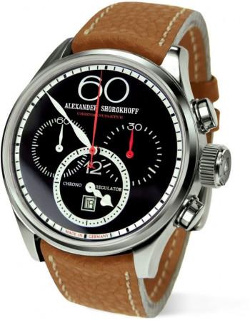 Alexander Shorokhoff AS.CR01-4 Chrono Regulator mechanical watch Alexander Shorokhoff - 1