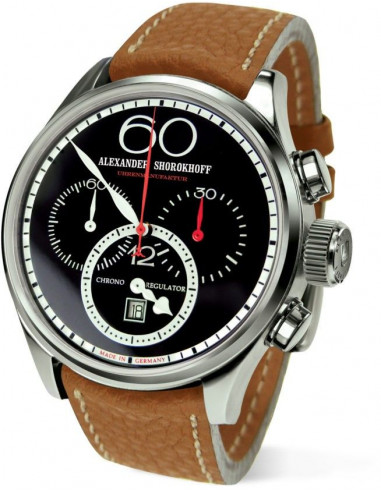 Alexander Shorokhoff AS.CR01-4 Chrono Regulator mechanical watch Alexander Shorokhoff - 1