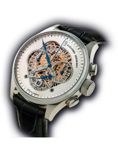 Alexander Shorokhoff AS.CR02-1 Chrono Regulator mechanical watch Alexander Shorokhoff - 1