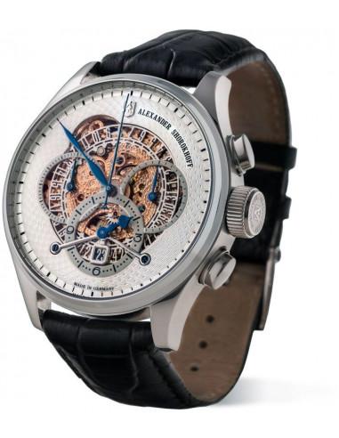 Zegarek mechaniczny Alexander Shorokhoff AS.CR02-1 Chrono Regulator 5980.765417 - 2