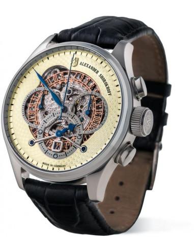 Zegarek mechaniczny Alexander Shorokhoff AS.CR02-2 Chrono Regulator 5980.765417 - 1