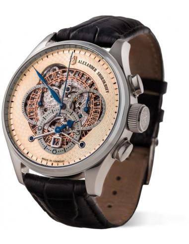 Zegarek mechaniczny Alexander Shorokhoff AS.CR02-3 Chrono Regulator 5980.765417 - 1