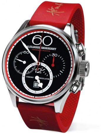 Alexander Shorokhoff AS.CR01-4R Chrono Regulator red mechanical watch Alexander Shorokhoff - 1