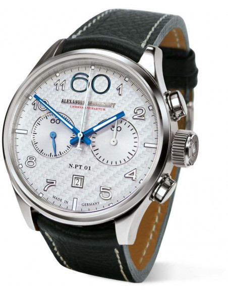Alexander Shorokhoff AS.N.PT01-1 manual winding chronograph watch Alexander Shorokhoff - 1