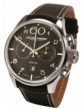 Alexander Shorokhoff AS.NPT01-3 manual winding chronograph watch Alexander Shorokhoff - 1