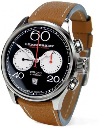 Alexander Shorokhoff AS.C01-4 manual winding chronograph watch Alexander Shorokhoff - 1