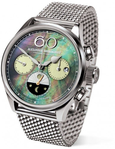 Hodinky Alexander Shorokhoff AS.LCD01-4M manual winding lady chronograph 2046.839583 - 1