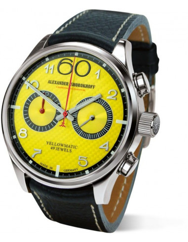 Alexander Shorokhoff AS.N.PT05-55 Automatyczny zegarek z chronografem Yellowmatic 2590.999375 - 1