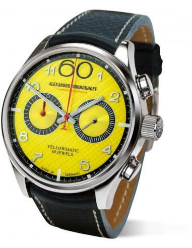 Hodinky Alexander Shorokhoff AS.N.PT05-55 Yellowmatic automatic chronograph 2590.999375 - 1