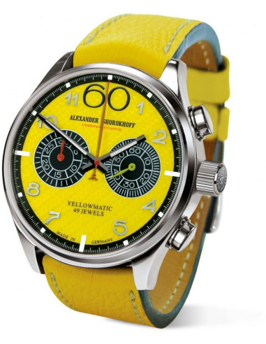 Alexander Shorokhoff AS.N.PT05-58 Automatyczny zegarek z chronografem Yellowmatic 2590.999375 - 1