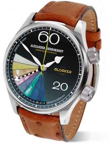 Zegarek mechaniczny Alexander Shorokhoff Glocker AS.GL01-4 2495.147375 - 1