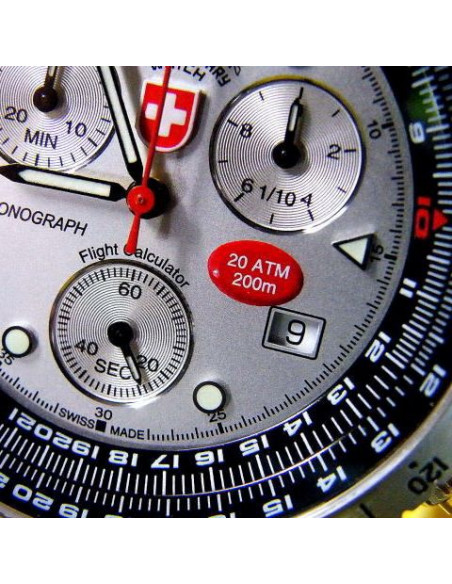 CX Swiss Military Airforce I 1735 watch