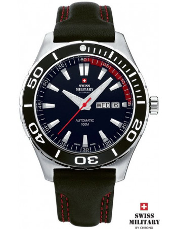 Men's Swiss Military by CHRONO 20090 ST-1L Automatic Watch