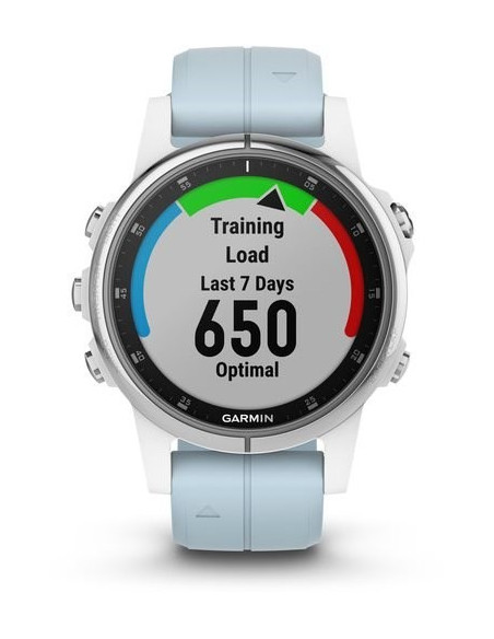 Garmin Fēnix® 5S Plus White with Sea Foam Band 010-01987-22 smartwatch Garmin - 6