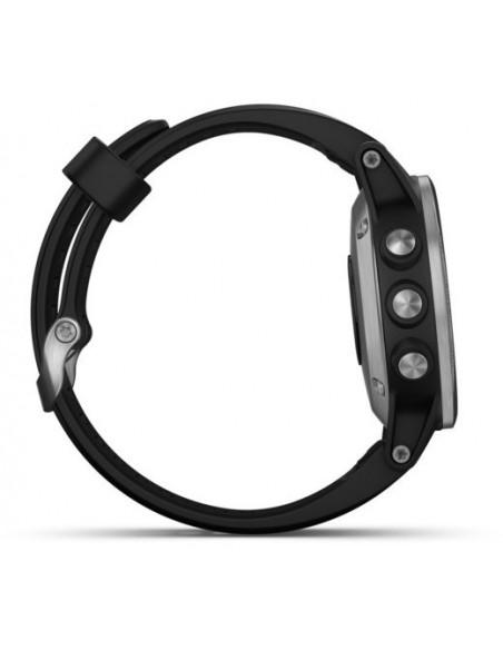 Garmin Fēnix® 5S Plus Silver with Black Band 010-01987-21 smartwatch Garmin - 4