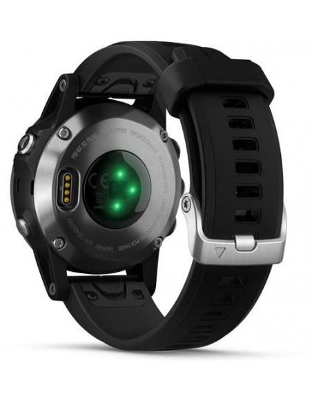 Garmin Fēnix® 5S Plus Silver with Black Band 010-01987-21 smartwatch Garmin - 2