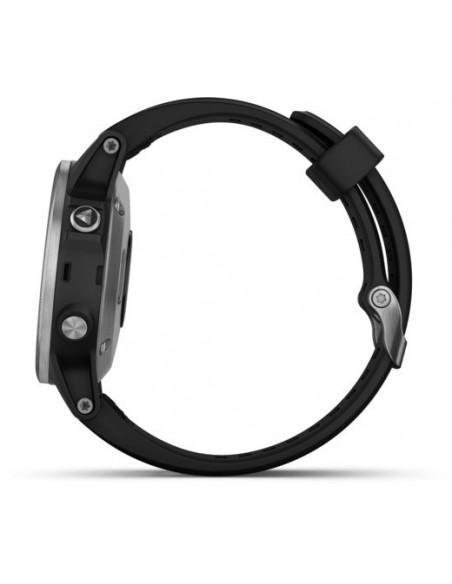 Garmin Fēnix® 5S Plus Silver with Black Band 010-01987-21 smartwatch Garmin - 3