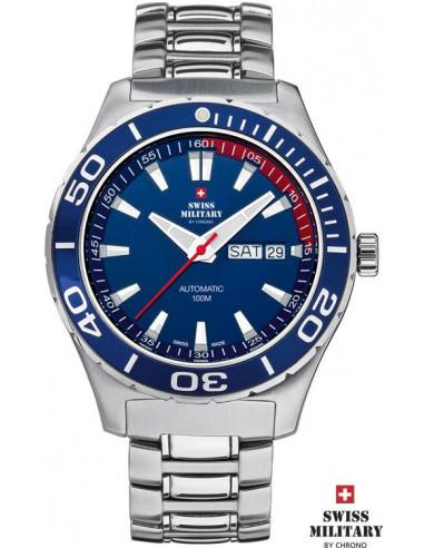 Ceasuri militare elvețiene pentru bărbați by CHRONO 20090 ST-6M ceas automat