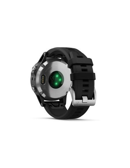 Garmin Fēnix® 5S Plus Silver with Black Band 010-01988-11 smartwatch Garmin - 8