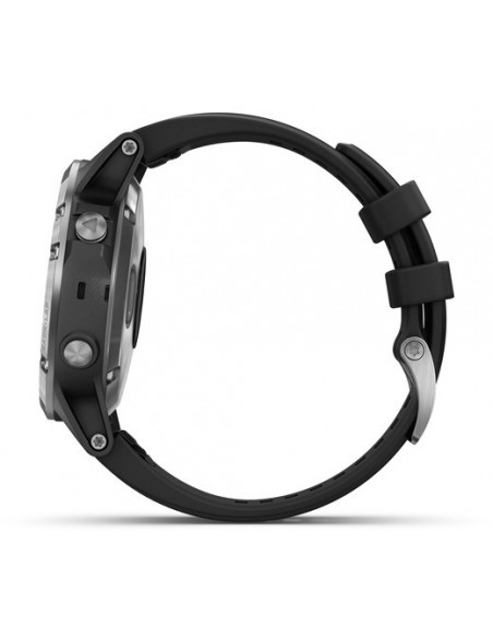 Garmin Fēnix® 5S Plus Silver with Black Band 010-01988-11 smartwatch Garmin - 9