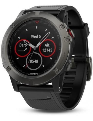 Garmin Fēnix® 5X Sapphire black with Black Band 010-01733-01 smartwatch Garmin - 1
