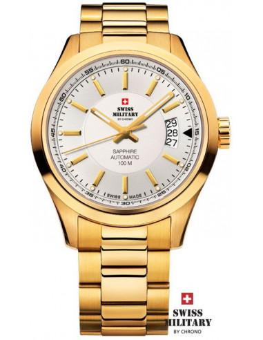 Ceasuri militare elvețiene pentru bărbați de către CHRONO 20056 ceas automat PL-2M