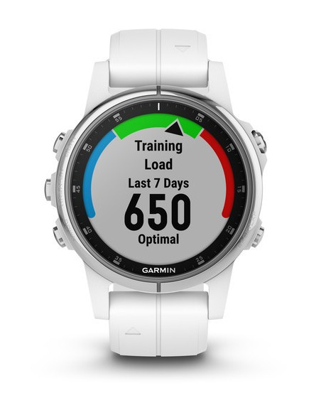 Garmin Fēnix® 5S Plus Sapphire White with white band 010-01987-01 smartwatch Garmin - 6