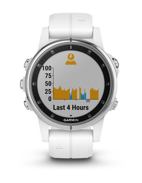 Garmin Fēnix® 5S Plus Sapphire White with white band 010-01987-01 smartwatch Garmin - 7