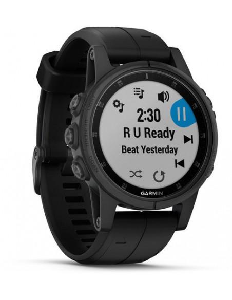 Garmin Fēnix® 5S Plus Sapphire Black 010-01987-03 smartwatch Garmin - 2