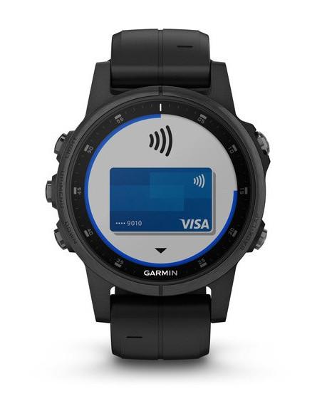 Garmin Fēnix® 5S Plus Sapphire Black 010-01987-03 smartwatch Garmin - 3