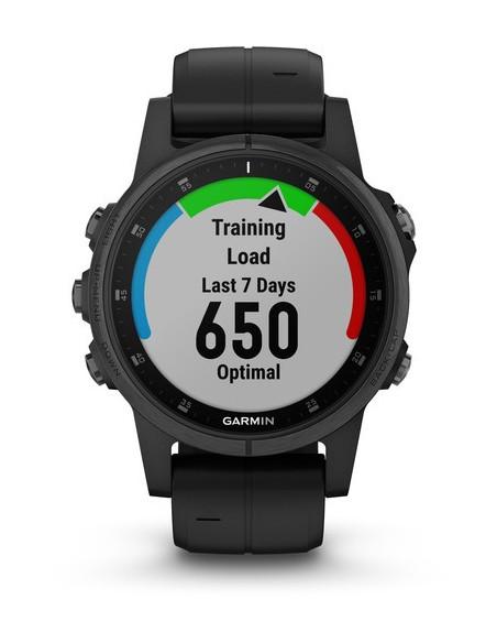 Garmin Fēnix® 5S Plus Sapphire Black 010-01987-03 smartwatch Garmin - 5