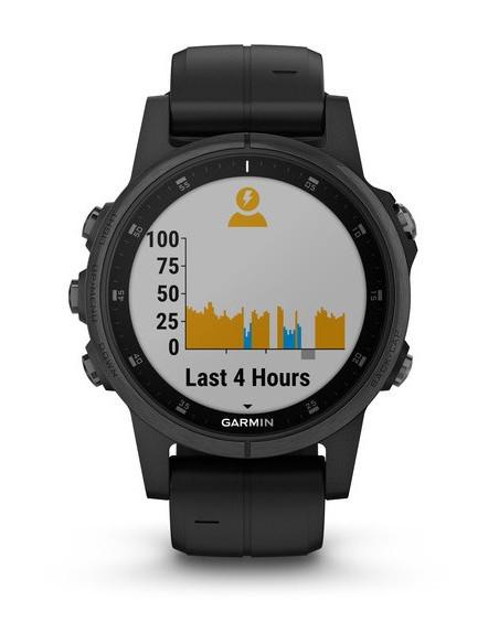 Garmin Fēnix® 5S Plus Sapphire Black 010-01987-03 smartwatch Garmin - 6